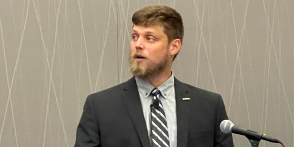 Joe Eilerman of Daimler Trucks North America urged TMC attendees to be open minded about new...