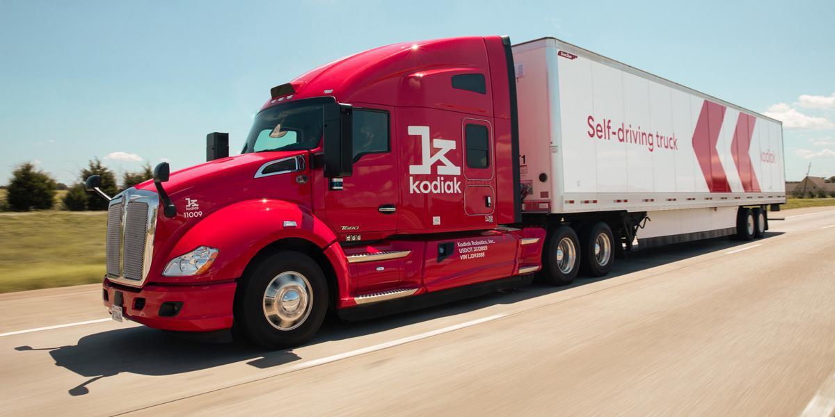 Q&A: Kodiak's Next-Gen Autonomous Truck
