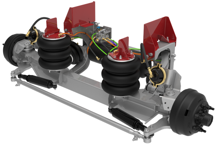 Link 8K SS auxiliary suspension is among a family of intelligent suspensions systems to be brought to market next year. - Link Mfg.