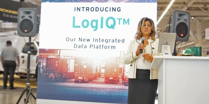 Nada Jiddou, Road Ready GM and EVP of its parent firm Clarience Technologies,said the companydeveloped LogIQ to streamline the delivery of data and make it easier for fleets to obtain insight that improves their operating efficiency. - Photo: Vesna Brajkovic