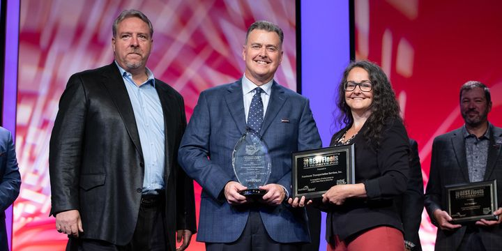 Nussbaum Transportation (417 drivers)won Best Overall Fleetin the large carrier category - Photo: TCA