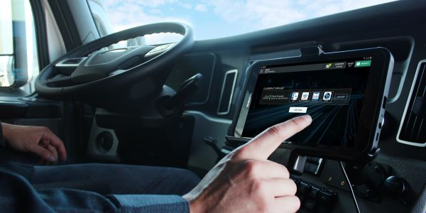 The E-Smart app uses GPS technology to determine vehicle location to actively manage its maximum...