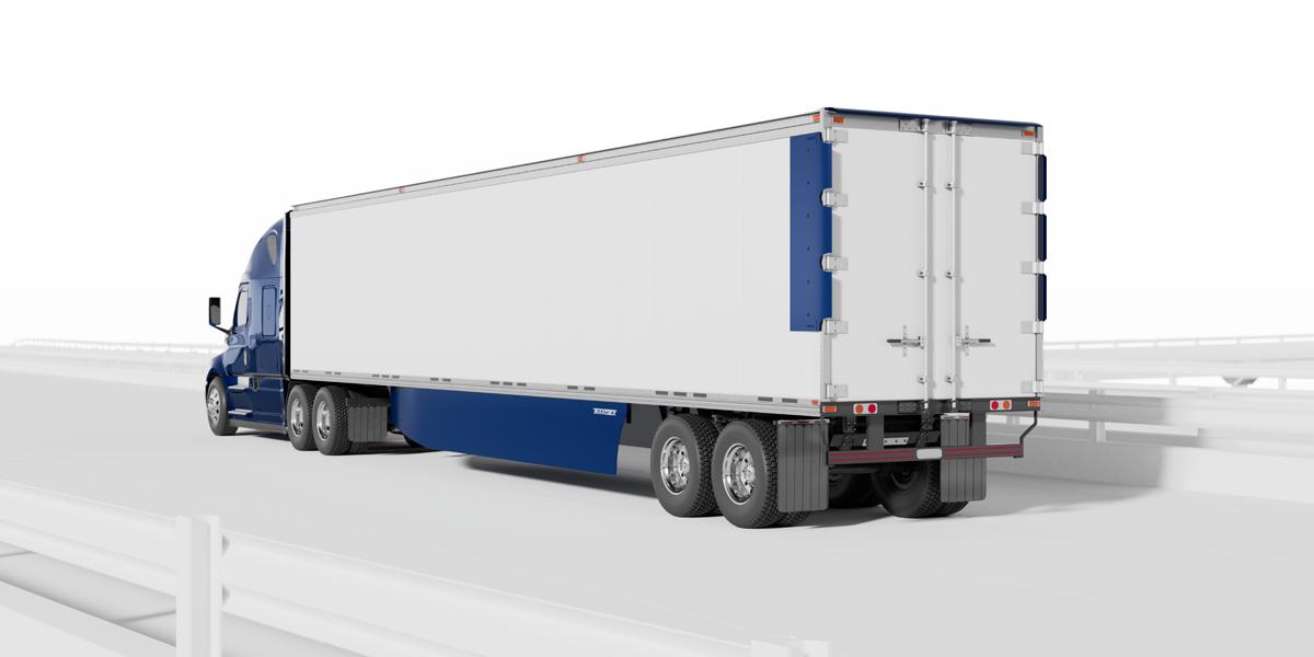 Transtex Trailer Aero Kit Meets CARB Standards