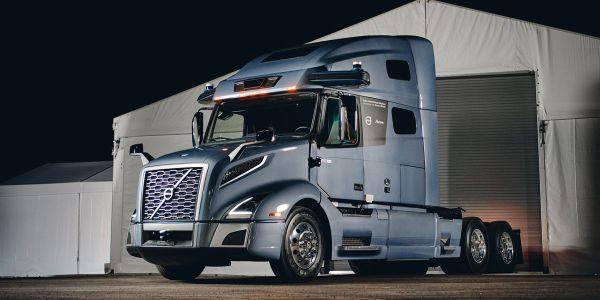 Volvo's autonomous prototype builds on proven safety technologies already on the Volvo VNL,...