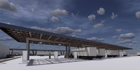 Solar-Powered Truckstop for Electric Truck Charging to Break Ground this Fall