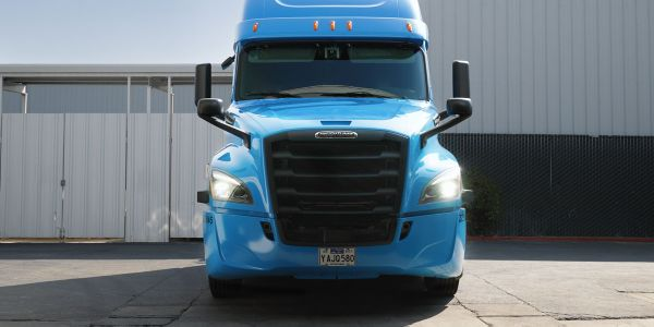 Waymo Via said it's taken delivery of a Freightliner designed specifically for its autonomous...
