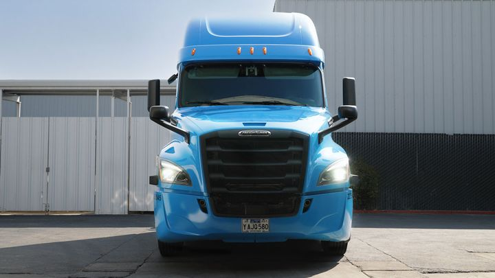 Waymo Via said it's taken delivery of a Freightliner designed specifically for its autonomous Waymo Driver technology. - Photo: Waymo Via
