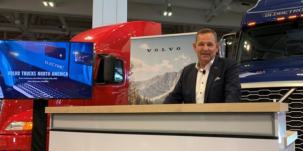 Peter Voorhoeve talks about Volvo's fossil-free future goals, including the latest adoptions of...