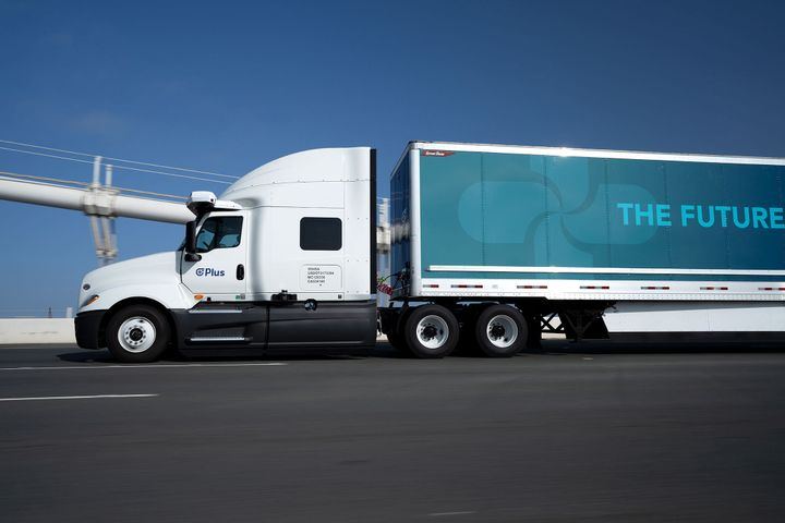 Plus is one of the autonomous-tech companies Cummins is working with. - Photo: Plus