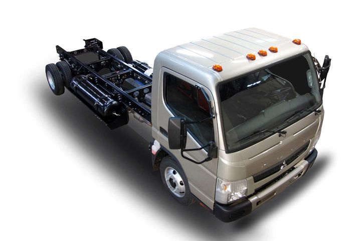 The CNG system on the concept truck is certified to the California Air Resources Board's optional low NOx standard.