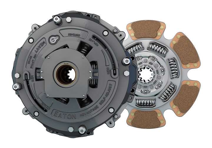 Eaton' has extended the warranty period for its AdvantageSeries aftermarket clutches in U.S. and Canada to three years/unlimited miles.  - Photo via Eaton