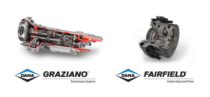 Dana Incorporated has acquired the Drive Systems segment of the Oerlikon Group, including the Graziano and Fairfield brands.