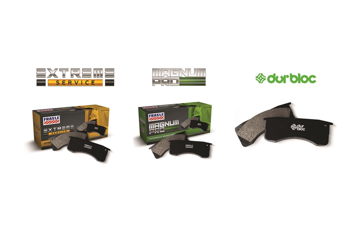 Fras-le announced improvements to its hydraulic brake pads program, including several spec changes as well as the addition of a more economical choice called durbloc.