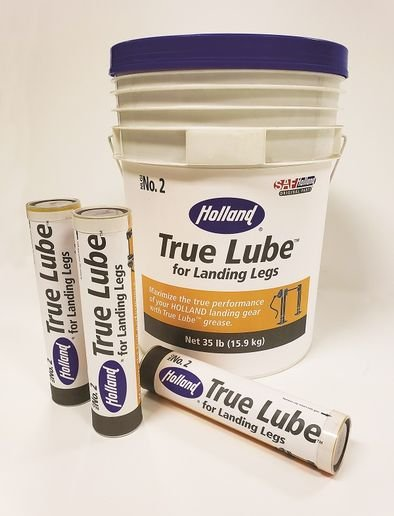 The True Lube grease was formulated specifically for Holland landing gear to maintain its true performance. -