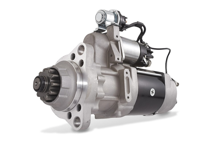 Denso has unveiled its new PowerEdge brand of starters, alternators, diesel particulate filters and diesel oxidation catalyst units for Class 8 trucks.