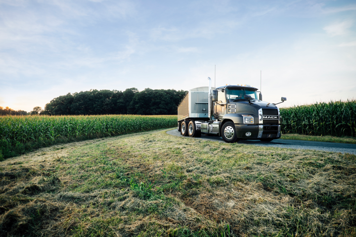 The Anthem has spearheaded Mack's entry into the highway segment.  - Photo courtesy of Mack Trucks