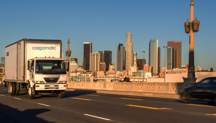 Cargomatic focuses its freight-matching on the local and drayage markets.  - Image via Cargomatic