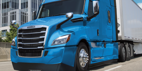 Freightliner's 2020 model year New Cascadia is 5% more fuel efficient than the 2017 version of...