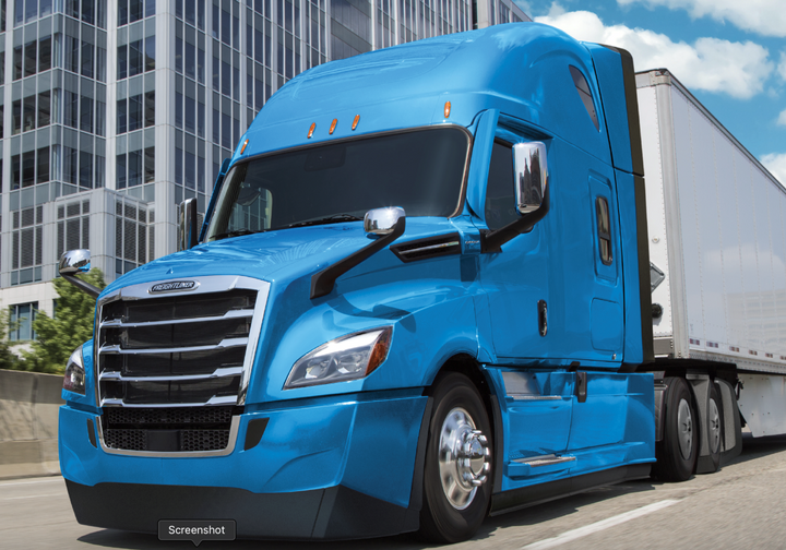 Freightliner's 2020 model year New Cascadia is 5% more fuel efficient than the 2017 version of the truck.  With the new aerodynamic options and upgrades, it's now 35% more fuel-efficient than the first-generation Cascadia, which was rolled out in 2007.