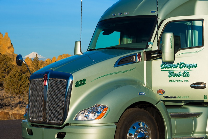 Central Oregon Trucking Company has introduced a new pay structure for drivers that offers weekly minimum guaranteed miles and pay.  - Photo courtesyCentral Oregon Trucking Company