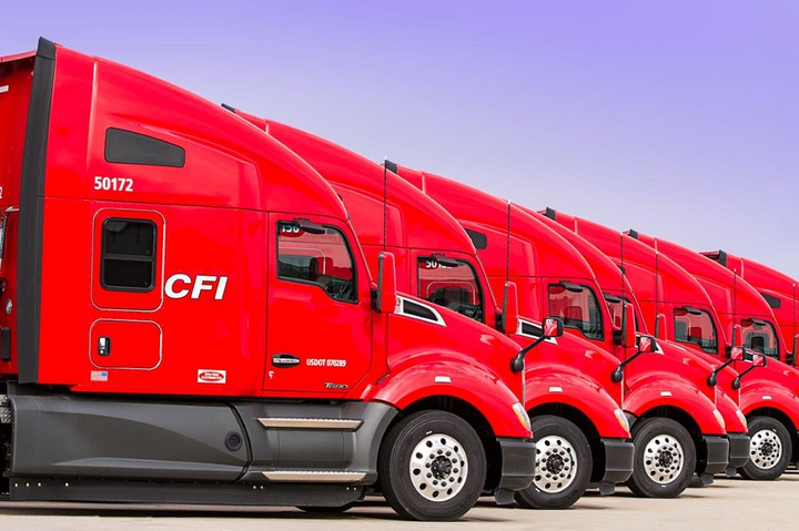 CFI's roots are as an asset-based truckload carrier, but it's expanding its non-asset logistics operations.  - Photo courtesy CFI