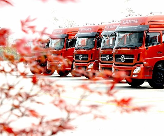 ACT Research expects that policies regarding commercial vehicles in China will begin to focus on environmental improvement and safety.  - Photo: Dongfeng Commercial Vehicle Company Limited