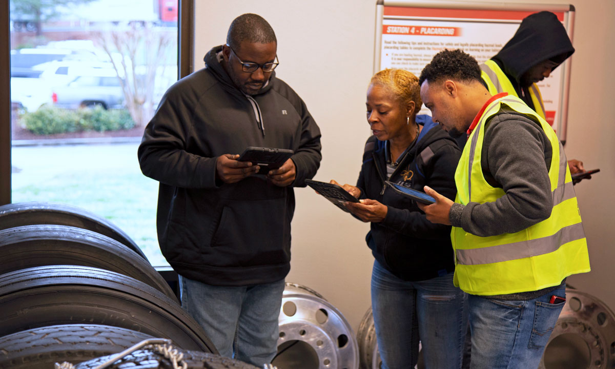 U.S. Xpress Takes High-Tech, Hands-on Approach to Driver Training and Development