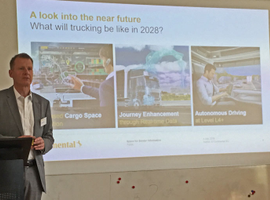 Continental execs share their vision for trucking's future.
