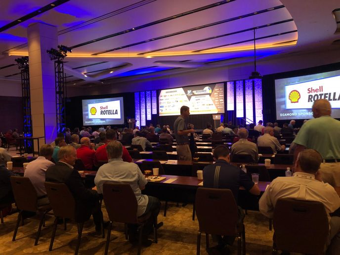 Vipar Heavy Duty's annual conference, hosted in Florida.
