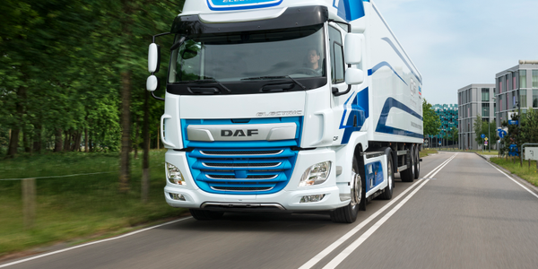 The new CF Electric truck will debut later this year in select DAF customer fleets and feature a...