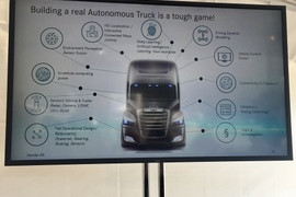 Daimler Aims for Level 4 Automated Trucks