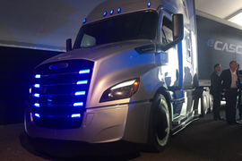 Daimler Trucks North America to Build Electric Cascadia, M2 Trucks