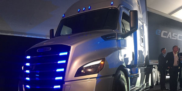 Freightliner announced plans to produce an electric eCascaida model as part of its Electric...