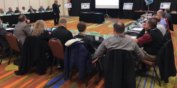 The Machinery Haulers Association gets a regulatory update from David Heller with the Truckload...