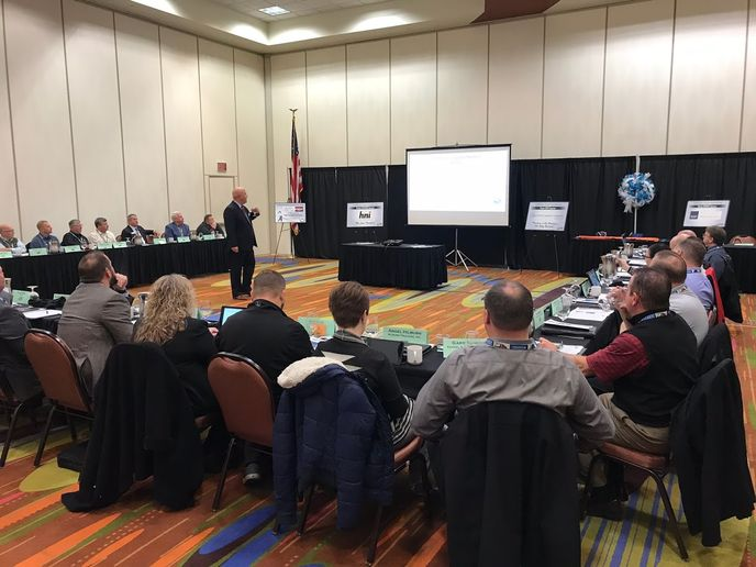The Machinery Haulers Association gets a regulatory update from David Heller with the Truckload Carriers Association.  -