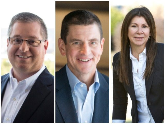 Daimler Trucks North America named Brian Lewallen, Erik Johnson, and Jane Rosaasen to high-level positions in its manufacturing and remanufacturing operations. Photos: DTNA