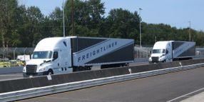 Daimler Trucks Demonstrates Truck Platooning
