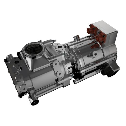 Electrically driven EGR pumps provide more precise EGR flow rates while allowing engine makers to use simpler fixed-geometry turbochargers.  - Photo: Eaton