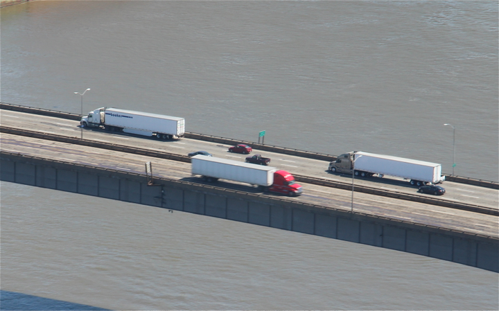 Tonnage is still strong, but the lack of truck drivers is a constraint, says ATA.  - Photo by Evan Lockridge
