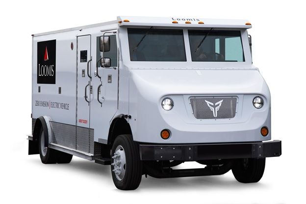 Armored-car fleet operator Loomis will evaluate two Class 6 Xos electric trucks for 90 days before placing an order for 100.  - Photo: Xos Trucks