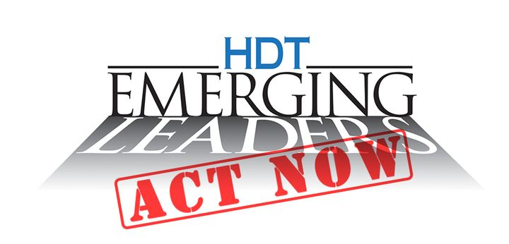Heavy Duty Trucking magazine's 2019 HDT Emerging Leaders awards nomination process is almost over, so get your nominations in soon. 