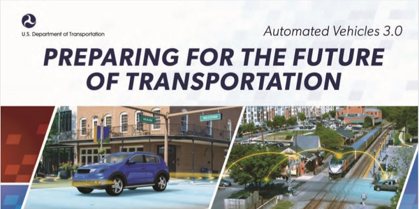 "Per DOT, its latest guidance on autonomous vehicle technologies outlines ""how automation will be..."