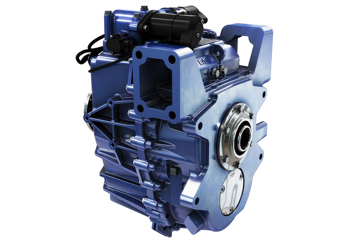 Eaton has developed a 4-speed transmission for electric vehicles and other components for hybrid and low-emissions vehicles.