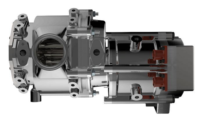 Eaton's positive-displacement TVS EGR pump enables the use of a high efficiency turbo to lower engine pumping losses and increase fuel economy.  -