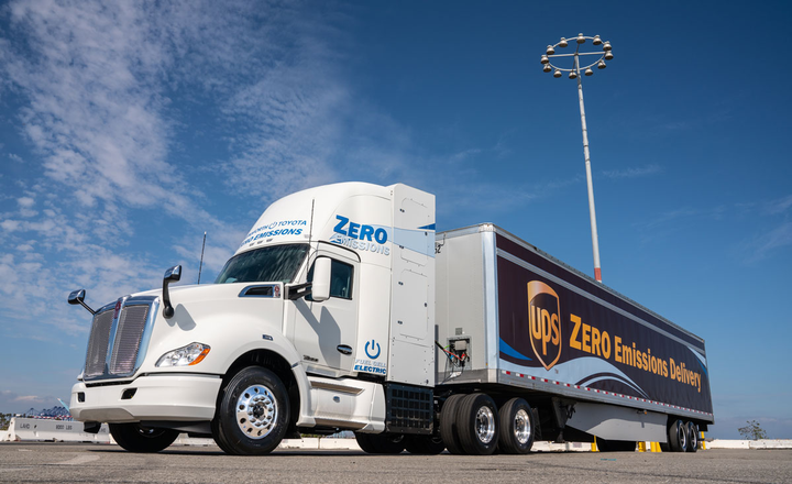 Kenworth, Toyota Unveil Jointly Developed Hydrogen Fuel Cell