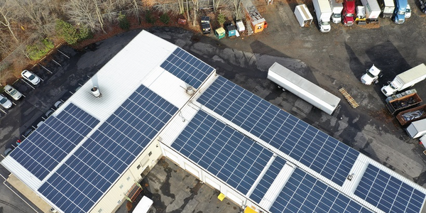 PennFleet is installing 500 solar panels on its facility to reduce its dependence on traditional...