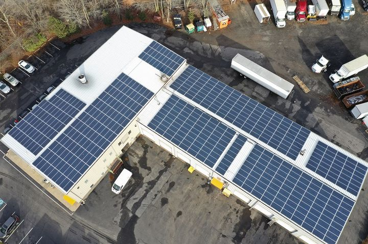 PennFleet is installing 500 solar panels on its facility to reduce its dependence on traditional sources of power.