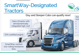 EPA Adds SmartWay Day Cab Program, Revises Retread Tire Specs