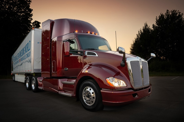 Toyota and Kenworth are co-developing hydrogen fuel cell electric trucks to transport goods around Southern California. Toyota showed off the latest version of its hydrogen-electric project portal truck (pictured) earlier this year.