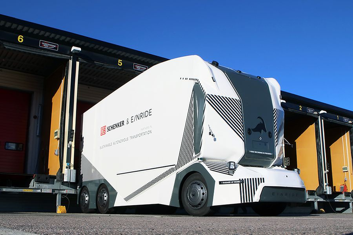The T-Pod is level 4 autonomous truck that uses a Nvidia Drive platform to process visual data in real time.